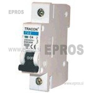Instalacijski odklopnik - avtomatska varovalka TRACON  TDZ-1C-10 10A 1P