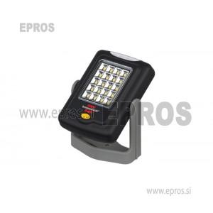 Brennenstuhl LED delovna luč / prilagodljiva LED univerzalna luč v praktičnem formatu žepa (360 ° vrtljiva, vsestranska uporaba) črna