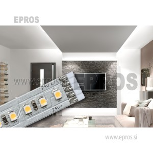 LED trak, osnovni set z vtičem 24 V 150 cm topla bela svetloba Paulmann MaxLED 500