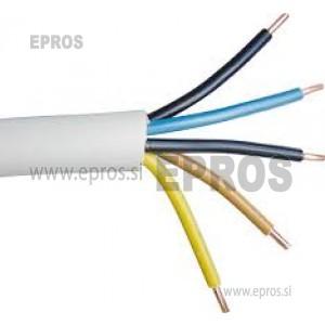 Kabel NYM-J 5x6 elektroinstalacijski trdožilni kabel, PGP