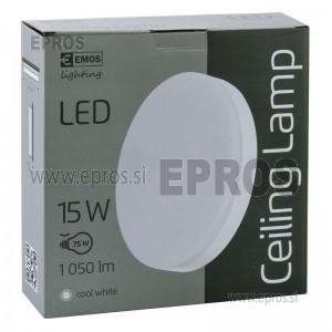 SVETILKA LED EMOS Ceiling 15W CW IP44