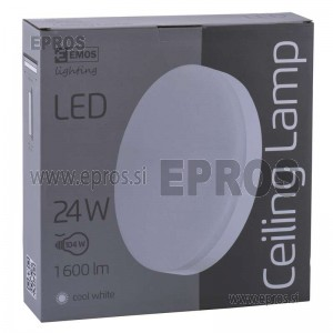 SVETILKA LED EMOS Ceiling 24W CW IP44