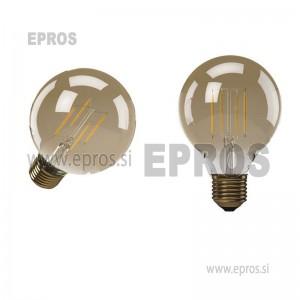 LED ŽARNICA VINTAGE G95 4 W E27 WW+
