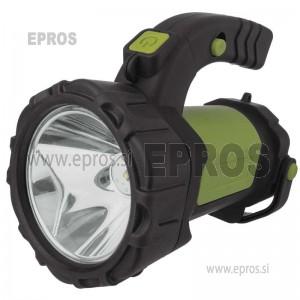 Polnilna svetilka 5W CREE + COB LED