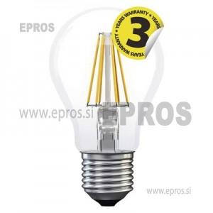 LED žarnica filament A60 A++ 8W E27 NW
