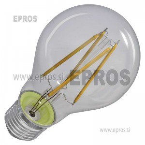 LED žarnica filament A60 A++ 8W E27 WW