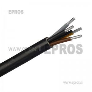 Aluminjasti zemeljski kabel NAYY-J  4x35 + 1.5 mm