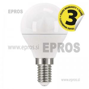 LED žarnica classic mini globe 6W E14 CW