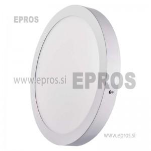 LED panel nadometni okrogel 24W NW