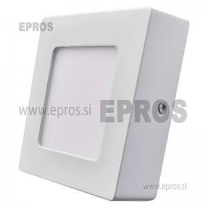 LED panel nadometni kvadratni 6W WW
