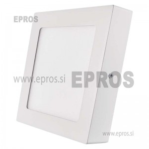 LED panel nadometni kvadratni 12W WW