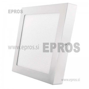 LED panel nadometni kvadratni 18W WW