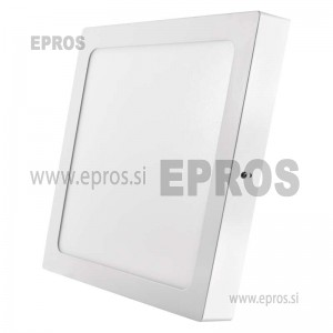 LED panel nadometni kvadratni 24W NW