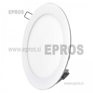 LED panel okrogel 12W WW EMOS