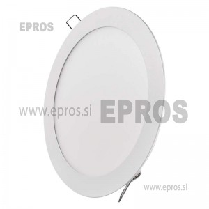 LED panel okrogel 18W NW
