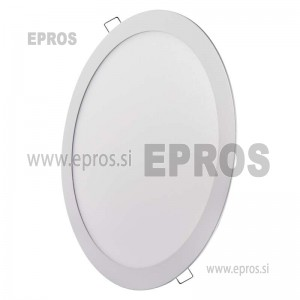 LED panel okrogel 24W WW EMOS