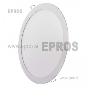 LED panel okrogel 24W NW EMOS
