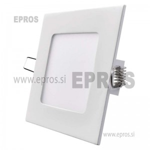 LED panel kvadratni 6W WW EMOS