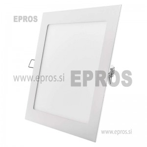LED panel kvadratni 18W WW