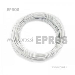 Trda žica HO7V-U 1.5mm, bela