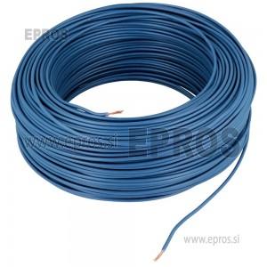 Mehka žica HO7V-K 0.75mm, temno modra