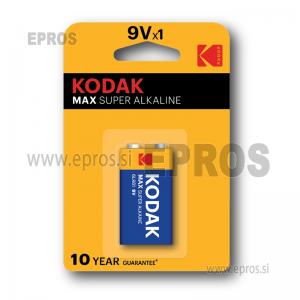 Baterija Kodak 9V