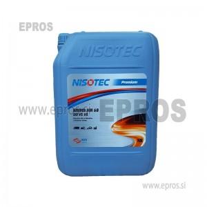 OLJE NISOTEC HIDROL HM 68 ISO VG 68, 10L