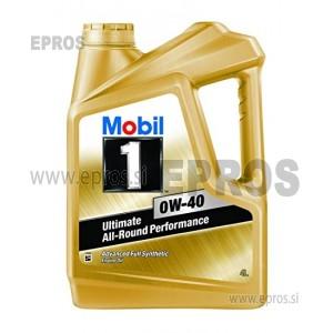 Olje MOBIL 1 0W-40, 4L