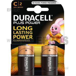 Baterija Duracell C / 2