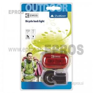 LED Svetilka za kolo 3LED 2xAAA zadnja EMOS