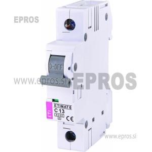 Instalacijski odklopnik - avtomatska varovalka ETI ETIMAT 6 1p C13