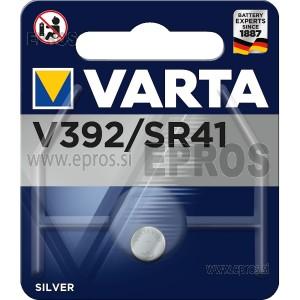Baterija VARTA V392 / SR41