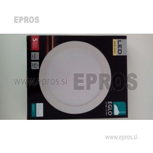 LED PANEL VGRADNI EGLO 16.5W 94063   WW TOPLO BELA