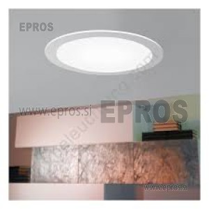 LED PANEL VGRADNI EGLO 13W 94055  WW TOPLO BELA