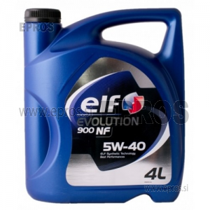 Olje Elf Evolution 900 NF 5W40 4L