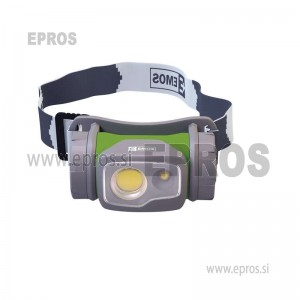 Naglavna LED svetilka 2 LED 1xAA tekaška EMOS