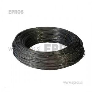 Trda žica HO7V-U 6mm, črna