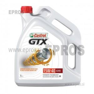 OLJE CASTROL GTX 15W40, 5L