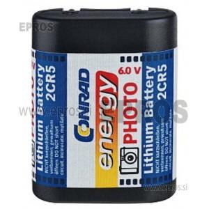 Baterija Conrad energy Lithium Battery 2 CR 5