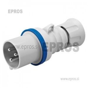 Vtikač za kabel 3x16 A PVC, GW 60 004