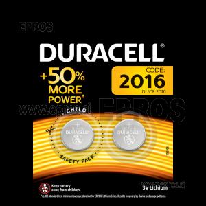 Baterija Duracell DL/CR 2016