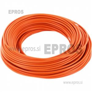 Mehka žica HO7V-K 0.75mm, oranžna