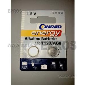 Baterija Conrad energy Alkaline batterie LR 1120 / AG8