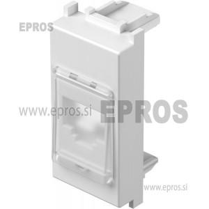 Adapter KS s prašno zaščito MODUL beli