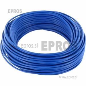 Trda žica HO7V-U 1.5mm, modra