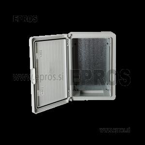 PP3005 PLASTIČNA OMARA ABS-POLNA VRATA IP65, (300 x 400 x 220 mm)