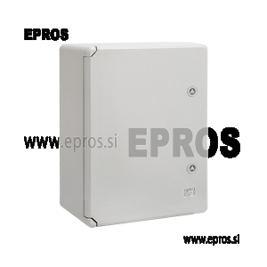 PP3006 PLASTIČNA OMARA ABS-POLNA VRATA IP65, (400 x 600 x 200 mm)