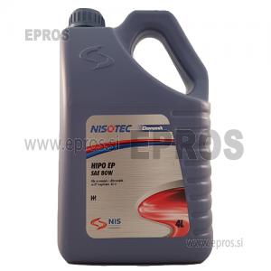 Olje NISOTEC HIPO EP SAE 80W, 4L