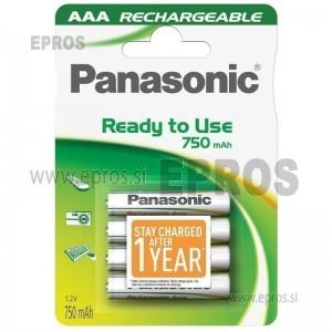 Baterija polnilna Panasonic AAA