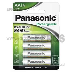 Baterija polnilne Panasonic NiMH AA